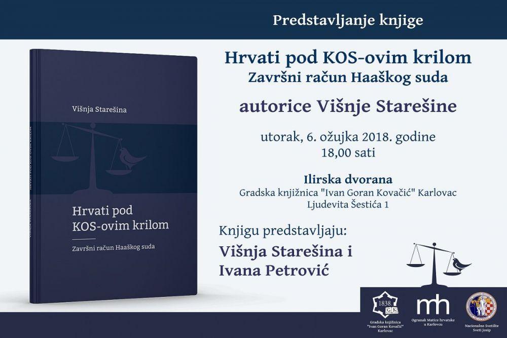Predstavljanje Knjige Hrvati Pod Kos Ovim Krilom